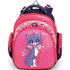 Ранец школьный Hummingbirdс мешком для обуви Patrician cat