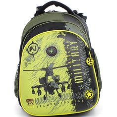 Ранец школьный Hummingbirdс мешком для обуви Вертолет