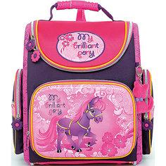 Ранец школьный Hummingbirdс мешком для обуви My brilliant pony