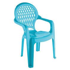 Голубой стул Полимербыт