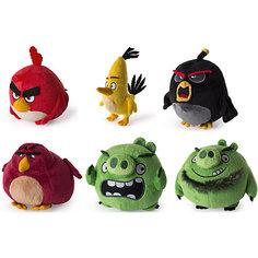 Плюшевая птичка 13см, Angry Birds Spin Master