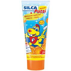 Зубная паста апельсин от 2 до 12 лет, Silca, 75 мл.