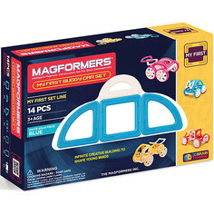"Магнитный конструктор ""My First Buggy"", желтый, MAGFORMERS"