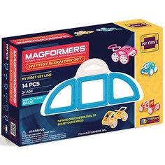 """Магнитный конструктор """"My First Buggy"""", синий, MAGFORMERS"""