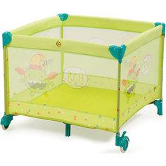 Манеж Alex, Happy Baby, зеленый