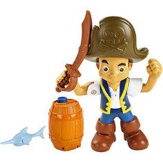 Большая фигурка героя, с аксессуарами, Джейк и пираты Нетландии Mattel