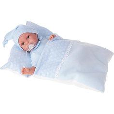 Кукла Эрнеста в голубом, 34 см, Munecas Antonio Juan