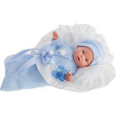 Кукла Ланита в голубом, 27 см, Munecas Antonio Juan