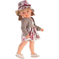 Белла в шляпке, блондинка, 45 см, Munecas Antonio Juan