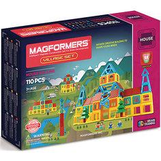 Магнитный конструктор Village, MAGFORMERS