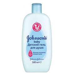 Гель для душа 500мл, Johnson`s baby