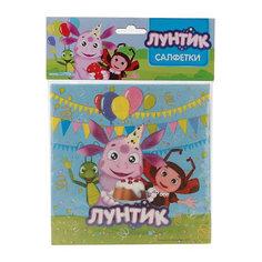 "Набор из 12-и салфеток ""Лунтик"" Веселый праздник"