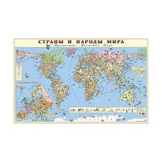 """Карта """"Страны и народы мира"""" Маленький гений"""