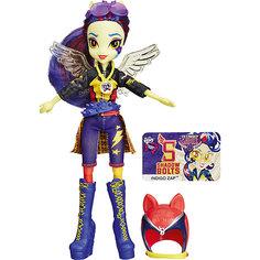 Кукла Индиго Зап (гонщица), Шедоуболт, с аксессуарами, Эквестрия герлз Hasbro
