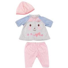 Одежда для куклы 36 см, my first Baby Annabell, цвет Серо-голубой Zapf Creation