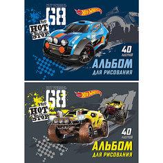 "Альбом для рисования ""Hot Wheels Racing"", А4, 40 л. Erich Krause"