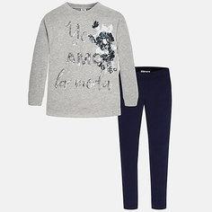 Комлект для девочки: футболка и леггинсы Mayoral