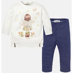 Комплект:футболка и леггинсы для девочки Mayoral