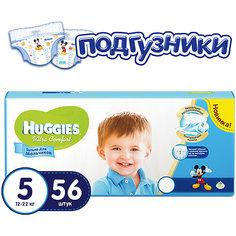 Подгузники Huggies Ultra Comfort 5 Mega Pack для мальчиков мега, 12-22 кг, 56шт