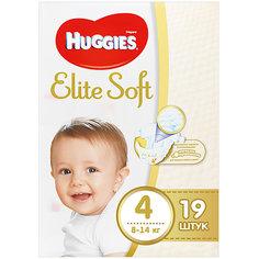 Подгузники Huggies Elite Soft 4, 8-14 кг, 19 шт.