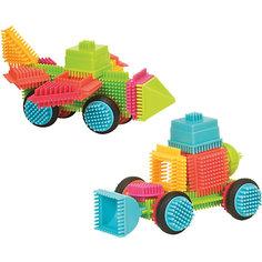 Конструктор игольчатый в чемоданчике, 50 деталей, Bristle Blocks Battat