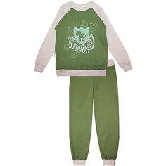 Пижама: футболка с длинным рукавом и штаны для мальчика KotMarKot КОТМАРКОТ
