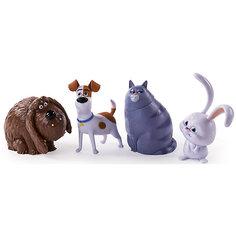 Набор из 4 фигурок героев, Тайная жизнь домашних животных Spin Master