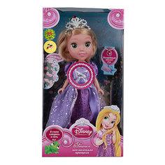 """Кукла """"Рапунцель со светящимся амулетом"""", 25см, со звуком, Принцессы Дисней, Карапуз"""