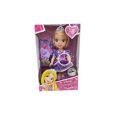 """Кукла """"Рапунцель"""", 15см, с аксессуарами, со звуком, Принцессы Дисней, Карапуз"""