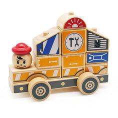 Автомобиль-конструктор 3, Мир деревянных игрушек МДИ