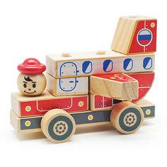Автомобиль-конструктор 4, Мир деревянных игрушек МДИ