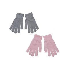 Перчатки, 2 пары для девочки Scool S`Cool