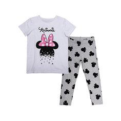 Комплект: футболка и леггинсы для девочки Scool S`Cool