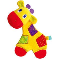 Игрушка «Самый мягкий друг» с прорезывателями, Жираф, Bright Starts