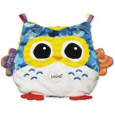 Электронная мягкая игрушка с подсветкой Сова-Ночничок,меняет цвет подсветки, Lamaze