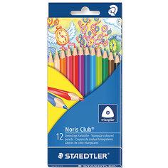 Карандаши  цветные NorisClub, 12 цв Staedtler