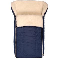 Конверт в коляску Норд, Сонный гномик, синий