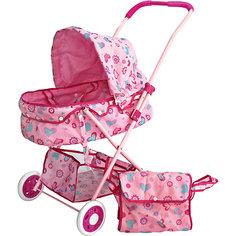Коляска люлька с корзиной и сумкой, 36*56*58 см, Shantou Gepai