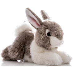 Мягкая игрушка Кролик серый, 28 см, AURORA