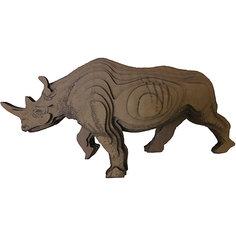 3D-Пазл «Носорог», PandaPuzzle