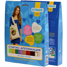 "Стигис-аппликация на эко-сумке ""Асино яблоко"" Stigis"