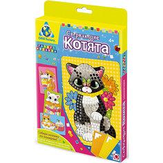 """Мозаика-набор """"Сверкающие котята"""", 4 картинки Origami"""