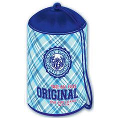 """Мешок для обуви """"Шотландка сине-голубая"""" Феникс"""
