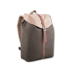 Рюкзак молодежный, серо-бежевый Феникс
