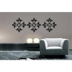 """Декораттивная наклейка на стену """"Узоры"""" (33,5*52 см) Феникс Презент"""