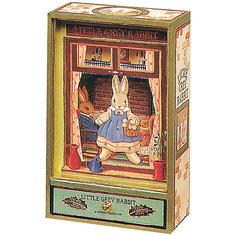 """Музыкальная шкатулка """"Little Grey Rabbit©"""" Rabbit, Trousselier, Grey/Green"""