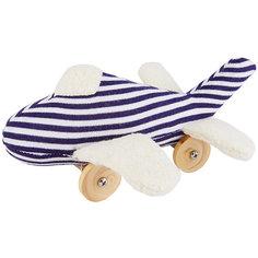 """Мягкая игрушка """"Самолет на колесиках"""", 16см, Trousselier"""