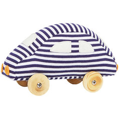 "Мягкая игрушка ""Машинка на колесиках"", 13см, Trousselier"