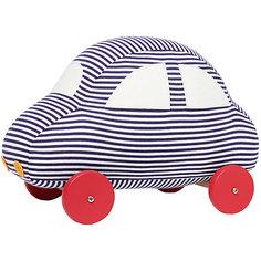 """Мягкая игрушка """"Автомобиль на колесиках"""", 29см, Trousselier"""