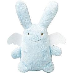 Мягкая игрушка Зайка с крылышками, музыкальный, голубой, 24см, Trousselier